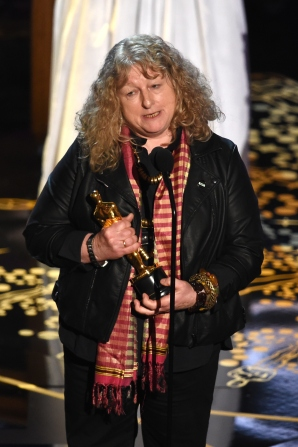 HOLLYWOOD, CA - FEBRUARY 28: Costume designer Jenny Beavan accepts the Best Costume Design award for 'Mad Max: Fury Road' onstage during the 88th Annual Academy Awards at the Dolby Theatre on February 28, 2016 in Hollywood, California. (Photo by Kevin Winter/Getty Images)