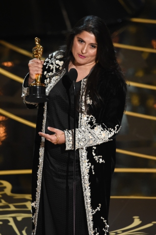 onstage during the 88th Annual Academy Awards at the Dolby Theatre on February 28, 2016 in Hollywood, California.